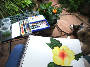 Morning Coffee #28 – Art Blossoms . . .